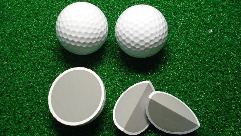 Bóng nổi không được sử dụng nhiều bằng bóng golf chìm