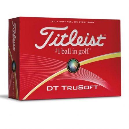 Bóng chơi golf Titleist DT TruSoft