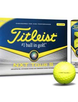 Bóng golf Titleist NXT Tour S màu vàng