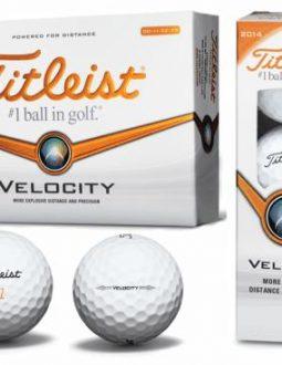 Bóng chơi golf Titleist Velocity