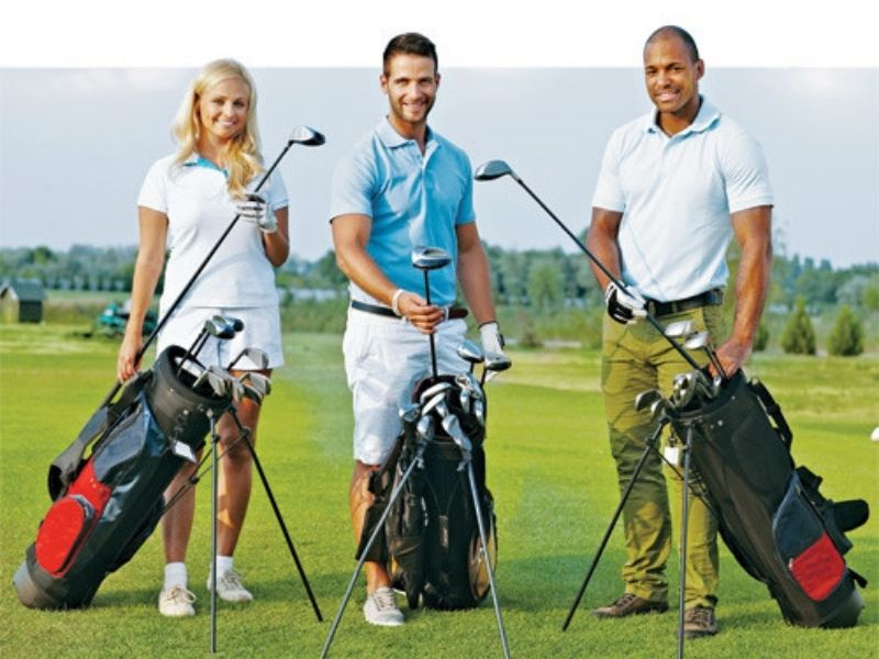 Chọn phụ kiện golf theo màu sắc