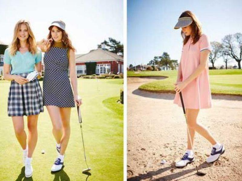 Lựa chọn trang phục golf theo mùa