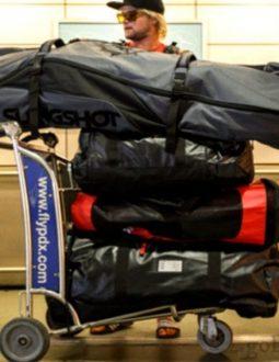 Sắp xếp túi gậy hợp lý để dễ di chuyển