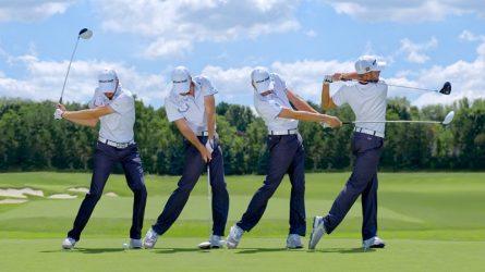 Để đánh gậy sắt số 3 chuẩn nhất bạn cần đặc biệt lưu ý đến tư thế chuẩn bị và tư thế chạm vào bóng golf