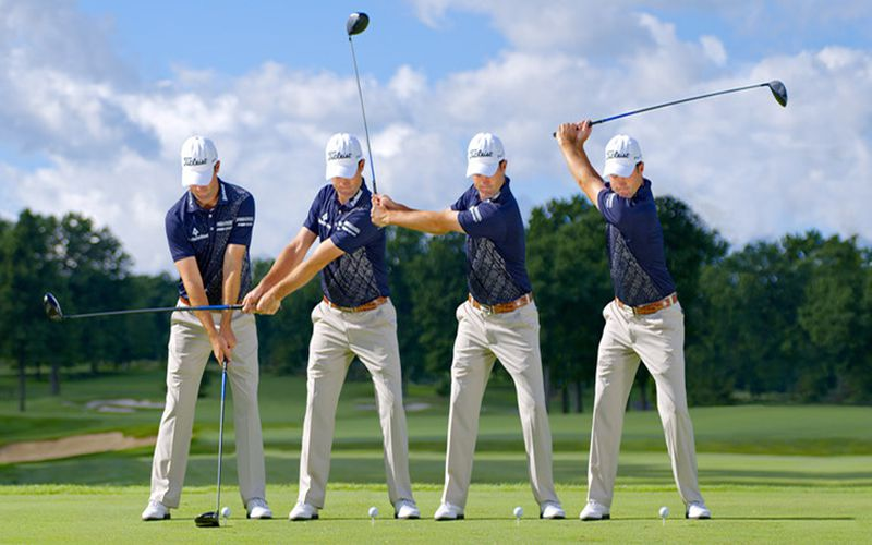 Swing bằng gậy sắt là một trong những kỹ năng quan trọng mà golf thủ cần học