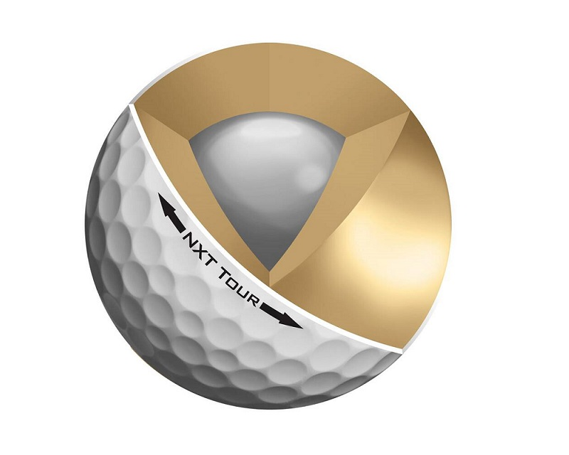 Mô phỏng mẫu bóng golf 3 lớp