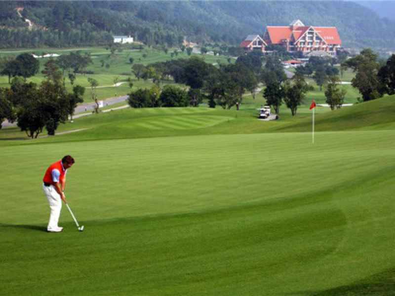 Chi phí sân golf là chi phí cao nhất trong bộ môn này