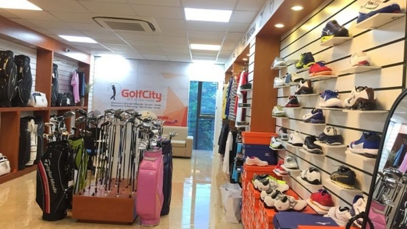 Cửa hàng bán đồ golf ở Hà Nội - Hệ thống GolfCity cung cấp các sản phẩm chính hãng
