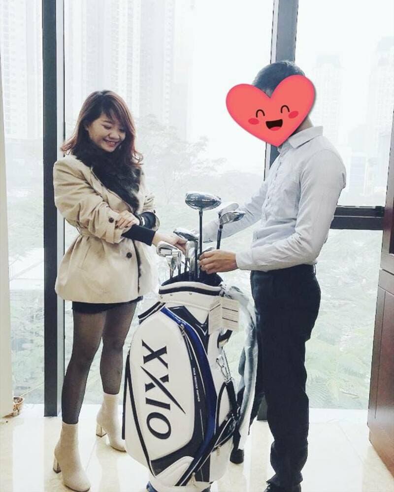 Golfer Hoàng Tiến Minh - Hải Phòng lựa chọn XXIO MP1000