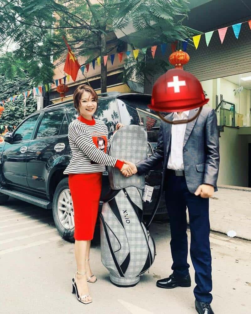 Golfer tại Hà Nội rất hài lòng về bộ gậy XXIO MP1000