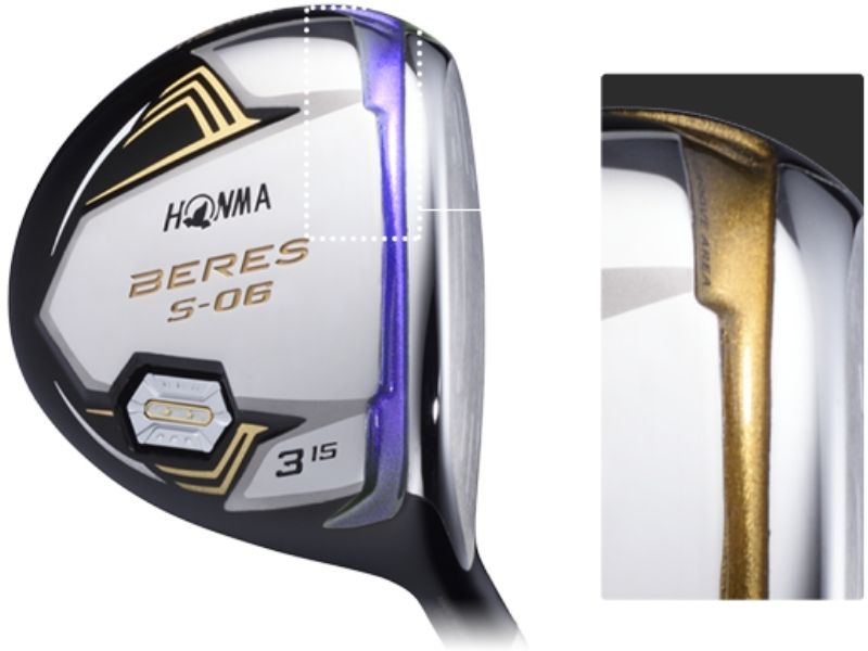 Gậy golf Driver Honma Beres 2 Sao S06