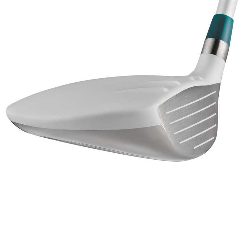 Mặt gậy được làm từ thép không gỉ mang đến phong cách chơi và hỗ trợ phát bóng đẹp mắt