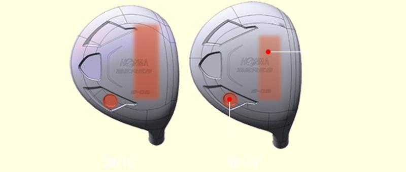 Mẫu gậy fairway này tập trung vào quỹ đạo và khả năng cơ động cao