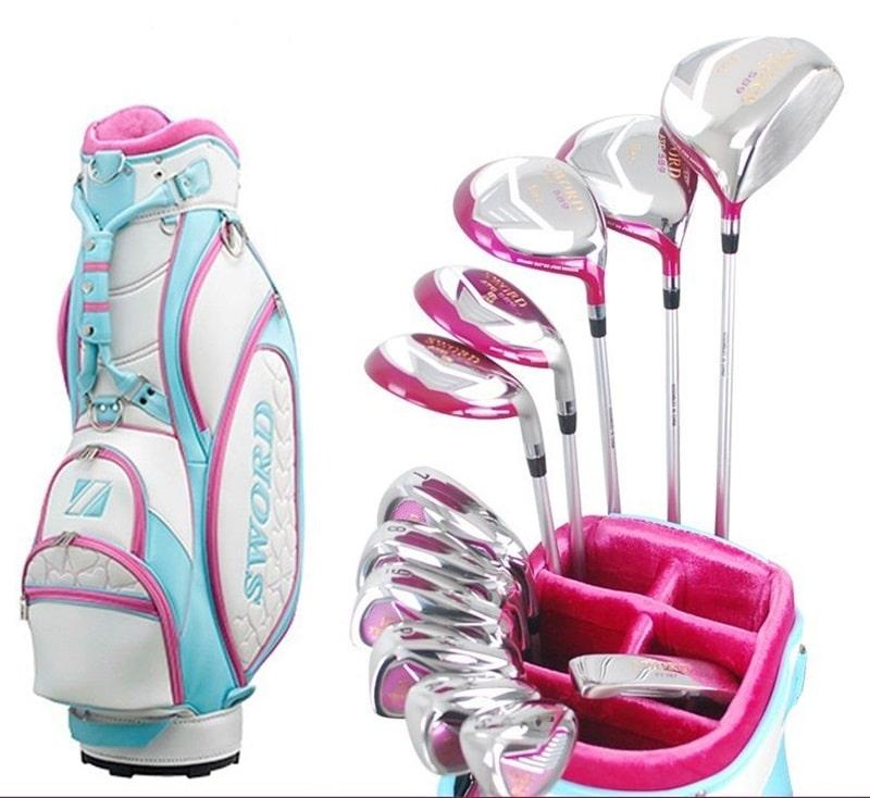 Bộ gậy golf full set dành cho nữ giới