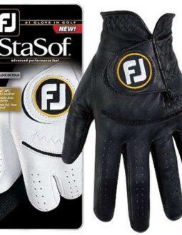 Găng tay Golf Nam FootJoy StaSof MLH BLK A HD