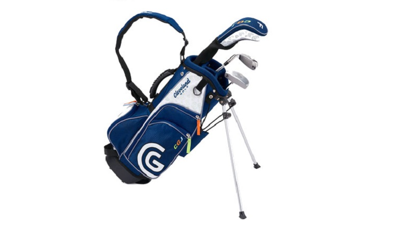 Full Set CGJ Set Small (FW, Iron, Putter & Stand Bag) - 4-6 tuổi