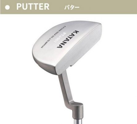 Bộ gậy golf Fullset Katana Sword Sniper Black
