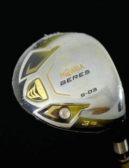 Bộ gậy golf Honma 3 sao FullSet Beres S-03 (14 gậy + túi) chính hãng