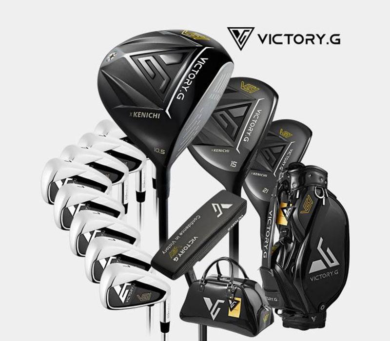 Gậy golf Kenichi Victory.G Men sở hữu thiết kế cực sang trọng