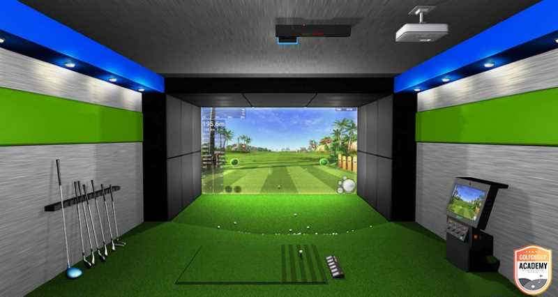 Phòng tập golf 3D tiên tiến nhất tại Golfgroup Academy