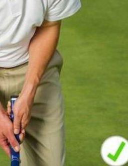 Cách cầm gậy putter đúng chuẩn