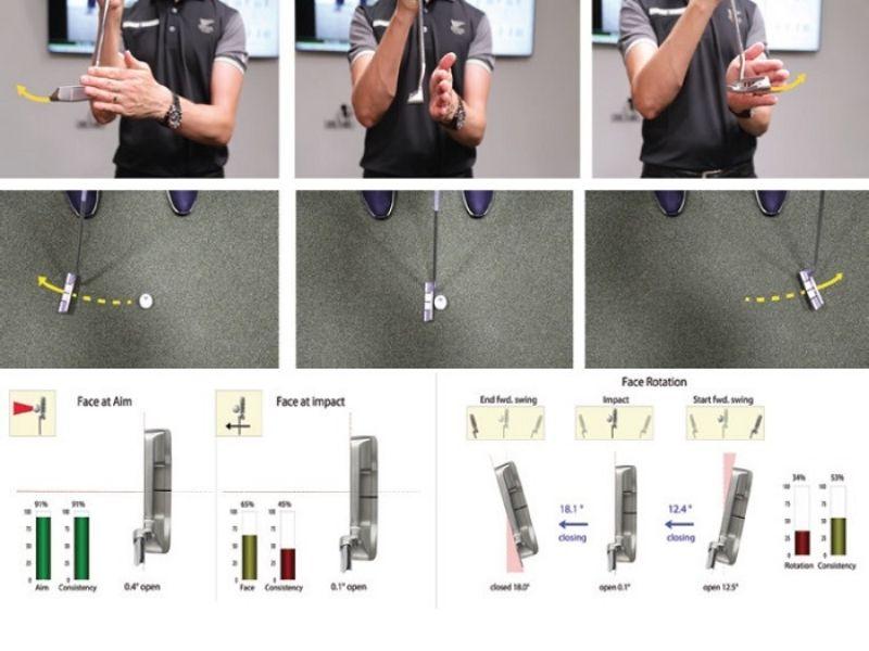 Cách để mặt gậy tiếp xúc với bóng