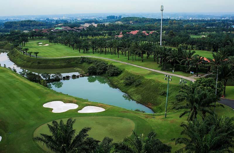 Khu vực dự án sân tập golf