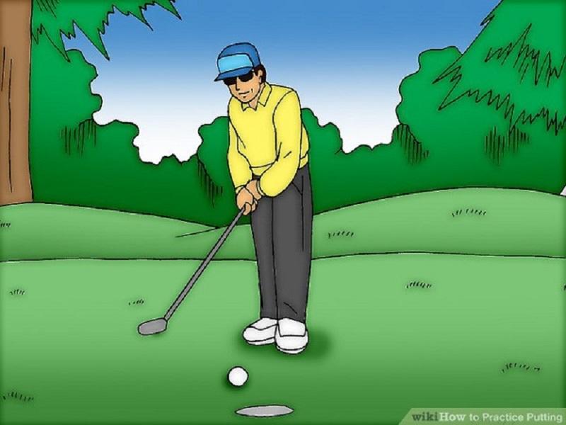 Lựa chọn địa điểm để luyện tập cách gạt bóng golf cũng rất quan trọng