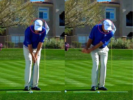 Setup tư thế chuẩn pitching golf