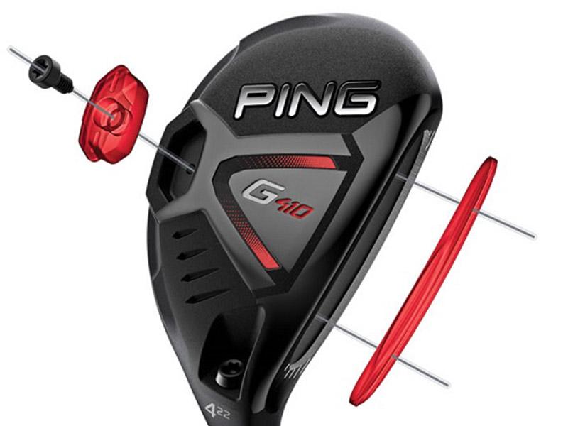 Gậy golf Ping G410 Hybrid có trọng lượng vonfram cao