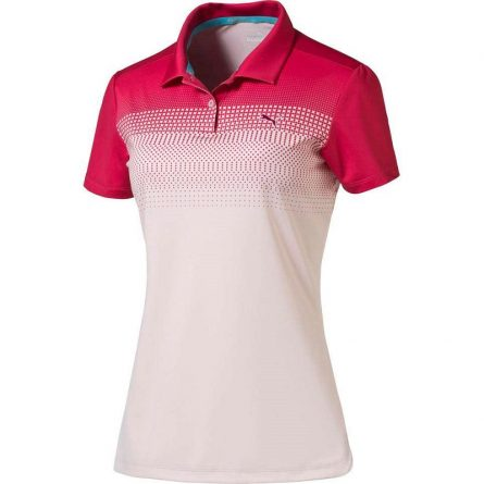 Áo Golf Nữ Puma W Colorblock Fade Polo