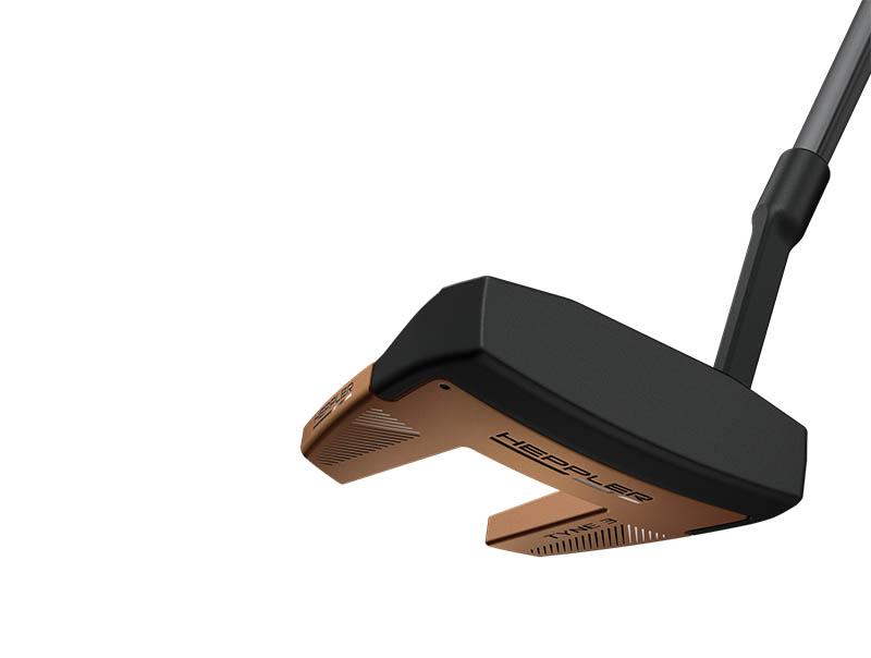 Gậy putter Ping Heppler Tyne 3 sử dụng vật liệu nhôm đúc áp lực cao, mang lại hiệu suất cao