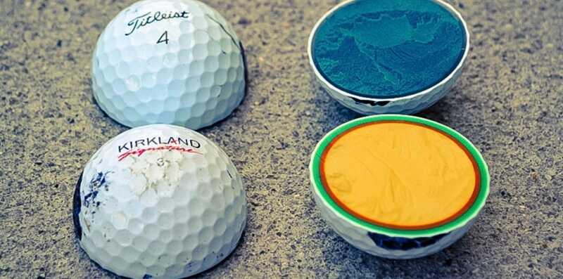 Kích thước bóng golf dưới 42,67 mm