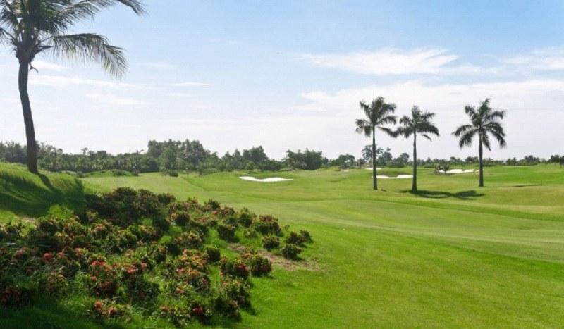 Sân golf Mê Kông có nét độc đáo và hấp dẫn riêng biệt