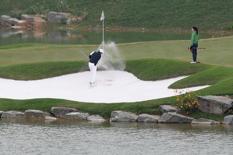 Thiết kế hố golf đặc biệt tại sân golf để người chơi trải nghiệm