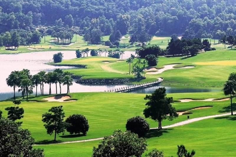 Sân golf Đại Lải ở Vĩnh Phúc