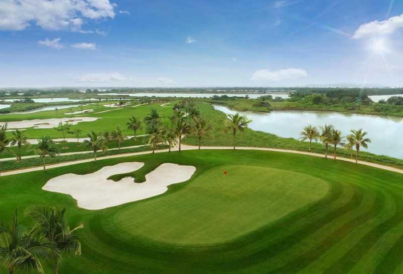 Sân golf Vinpearl Hải Phòng tuyệt đẹp
