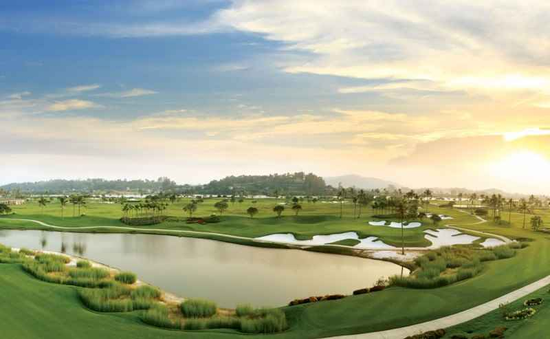 Sân golf Sông Giá khung cảnh đầy thơ mộng