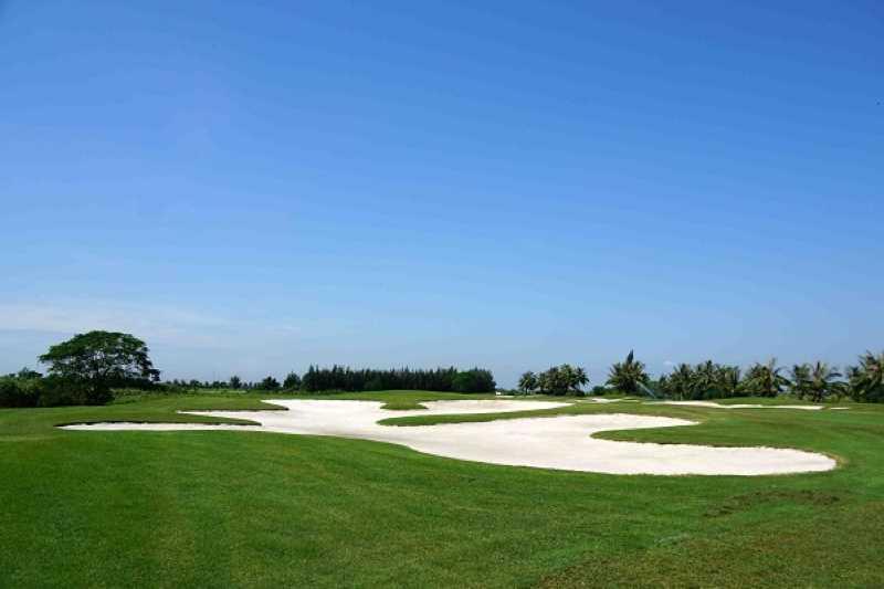 Sân golf Đồ Sơn thiết kế độc đáo