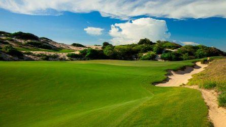Thiết kế ấn tượng của sân golf Hồ Tràm