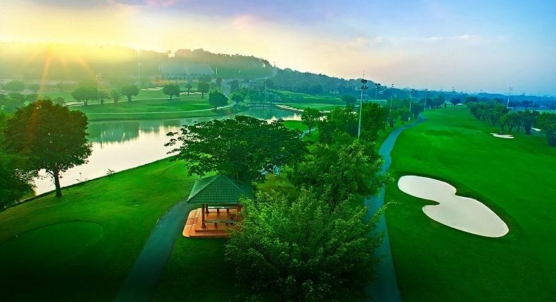 Cảnh đẹp khó quên của sân golf Long Thành