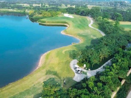 sân golf Minh Trí