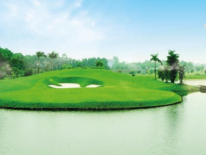 Sân golf Minh Trí đang ngày càng phát triển và thu hút giới golfer