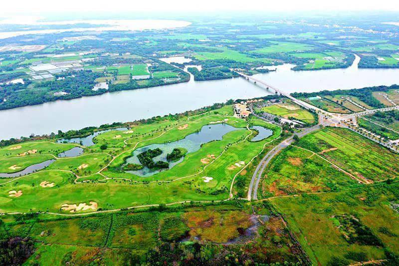 Sân golf Nhơn Trạch Đồng Nai thơ mộng