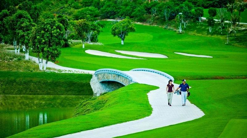 Hệ thống tiện ích cũng rất đa dạng, đáp ứng nhu cầu golfer