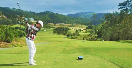 Sân golf SM Tuyền Lâm đầy thơ mộng