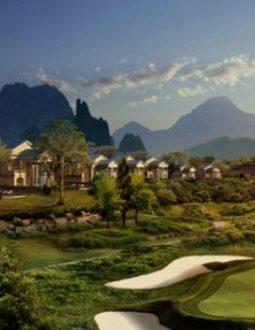 Sân golf đầy thách thức cho người chơi