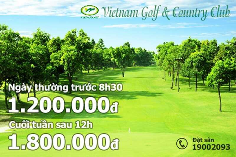 Bảng giá sân golf Thủ Đức