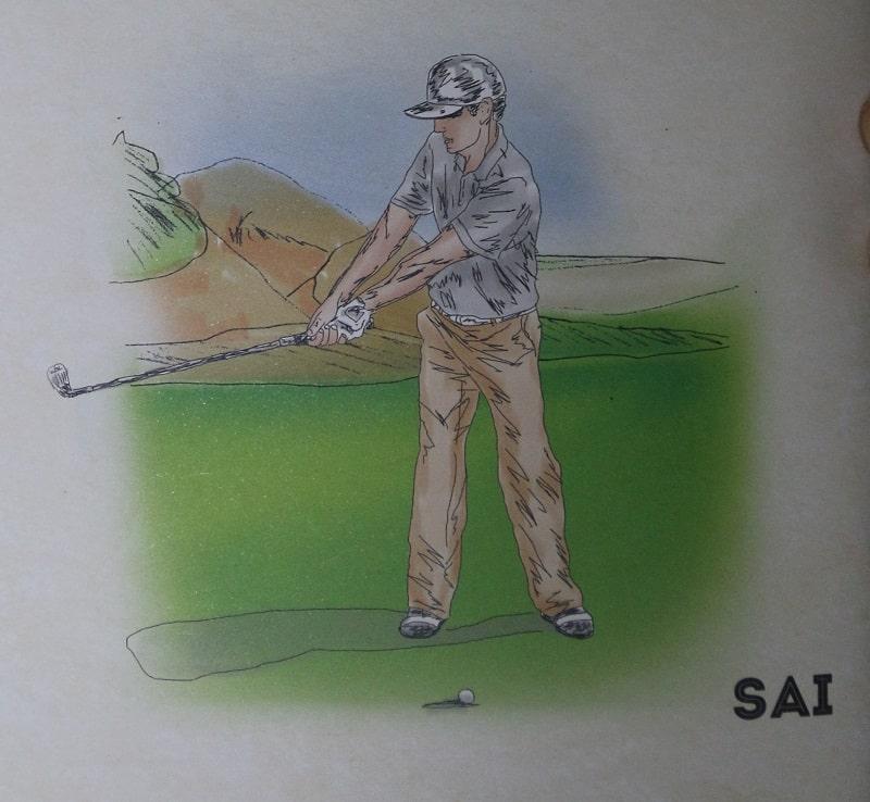 Cách chuyển không đúng từ backswing sang downswing bằng gậy sắt