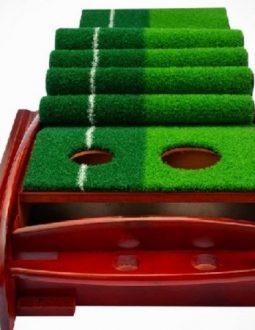 Thảm tập golf Putt Polo hỗ trợ tập luyện tại nhà dễ dàng